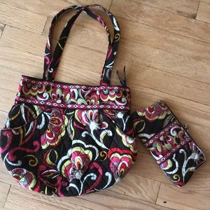 VERA BRADLEY set—purse and wallet
